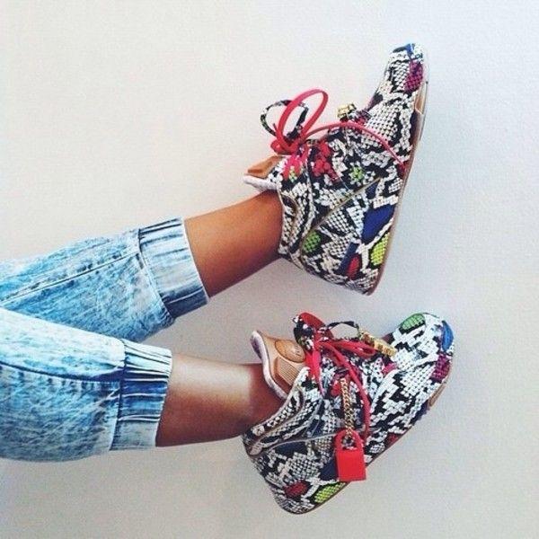 Reebok × Melody Ehsani | Reebok pump, Sneakers multicolor