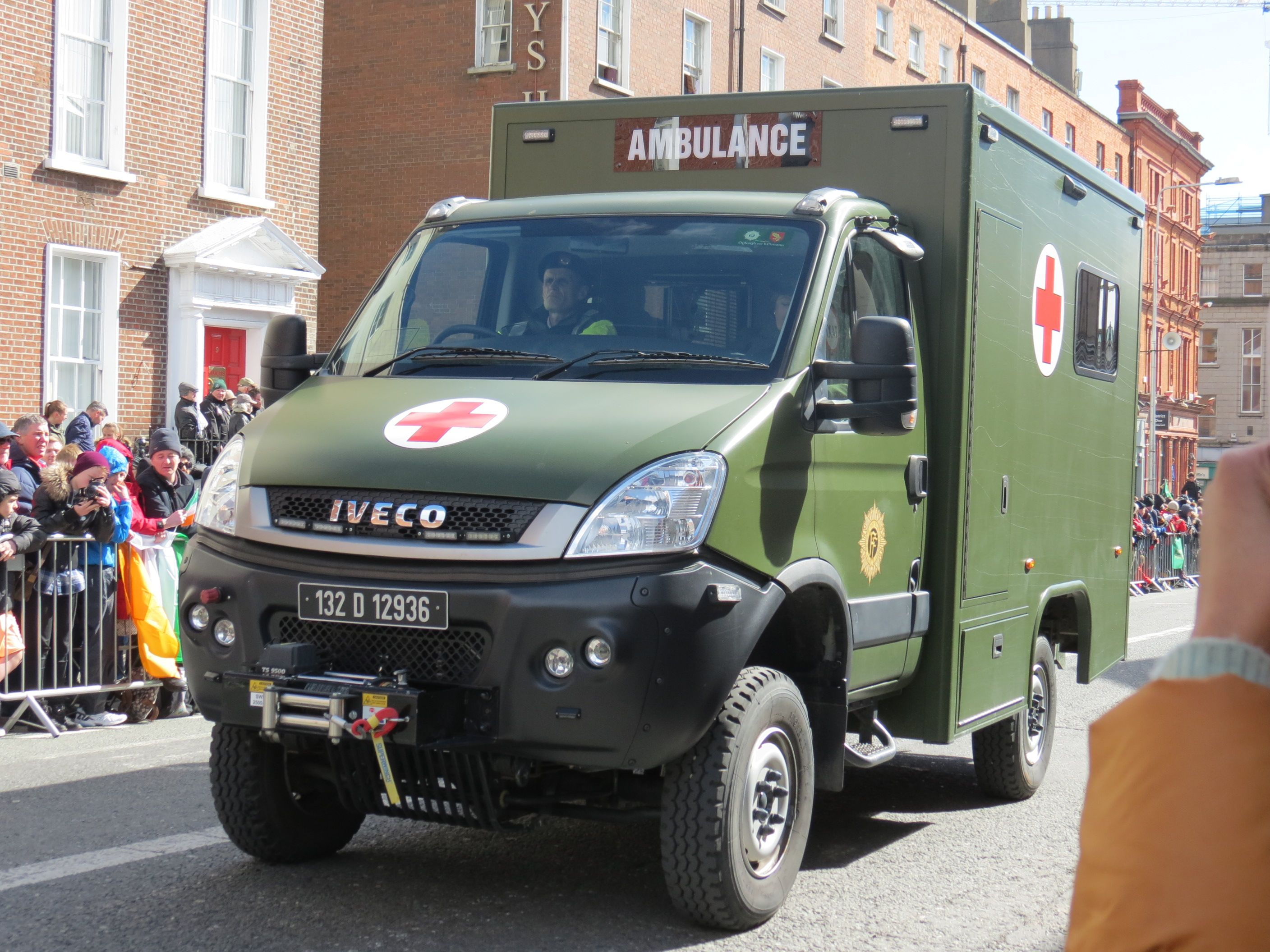 Irish Defence Forces IVECO Ambulance | Iveco Daily 4X4
