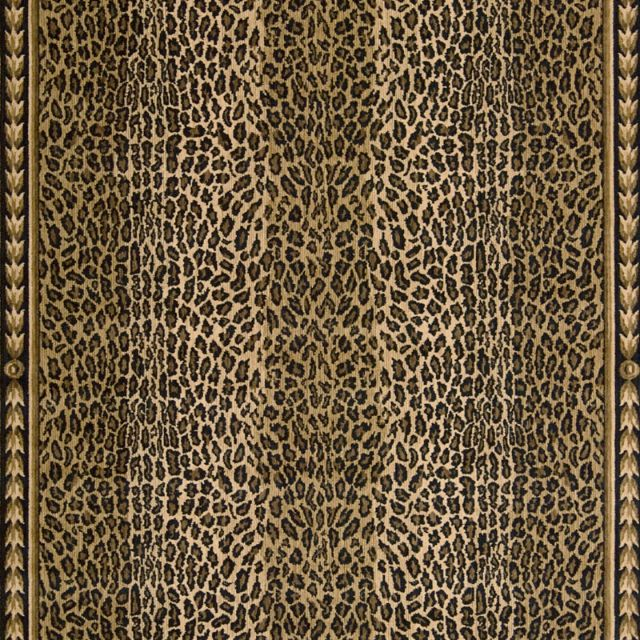 Stark Leopard Print Rug: Andrea Stark Animal Print Area Rug