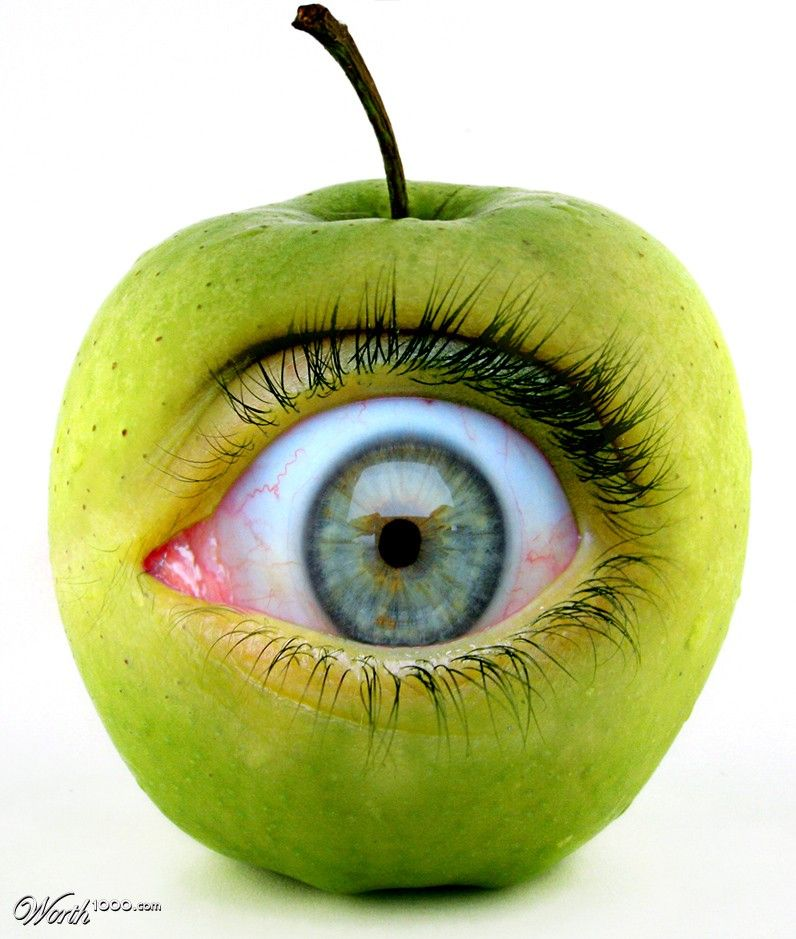 Apple Of My Eye Worth1000 Contests Surealisme Design Couverture De Magazine Idee De Jeux