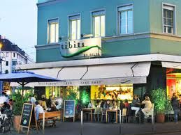 Vegetarian Restaurant Tibits in Zurich, Switzerland