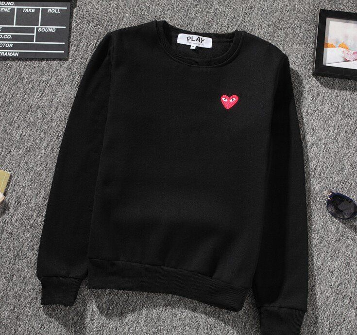 cdg play sweatshirt
