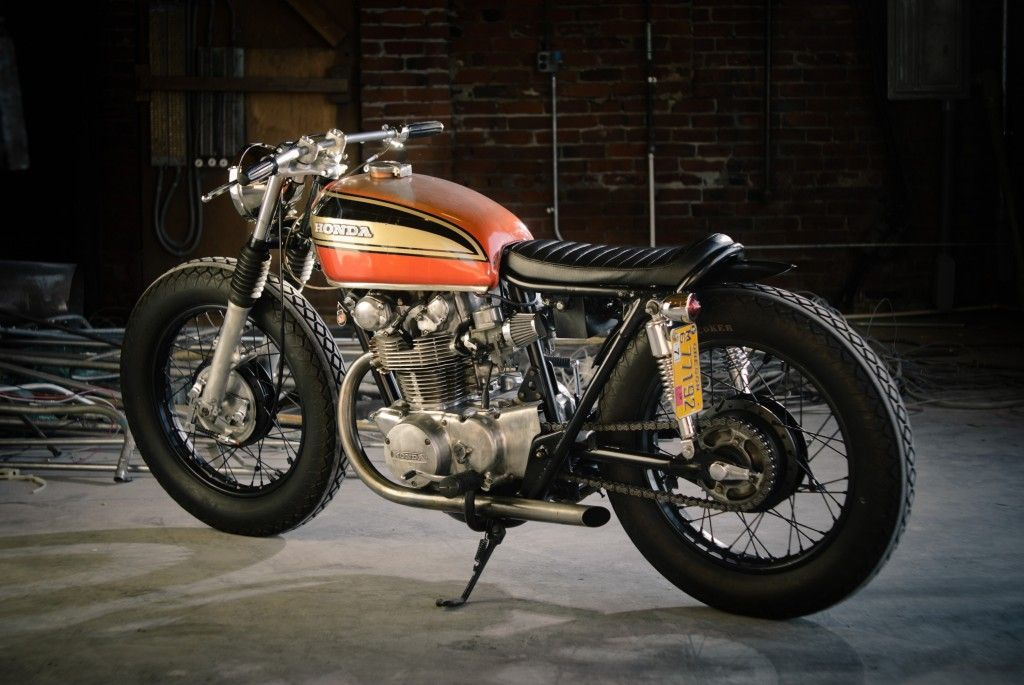 Garage Project Motorcycles - RUSTY Does this bike look familiar? It should,...
