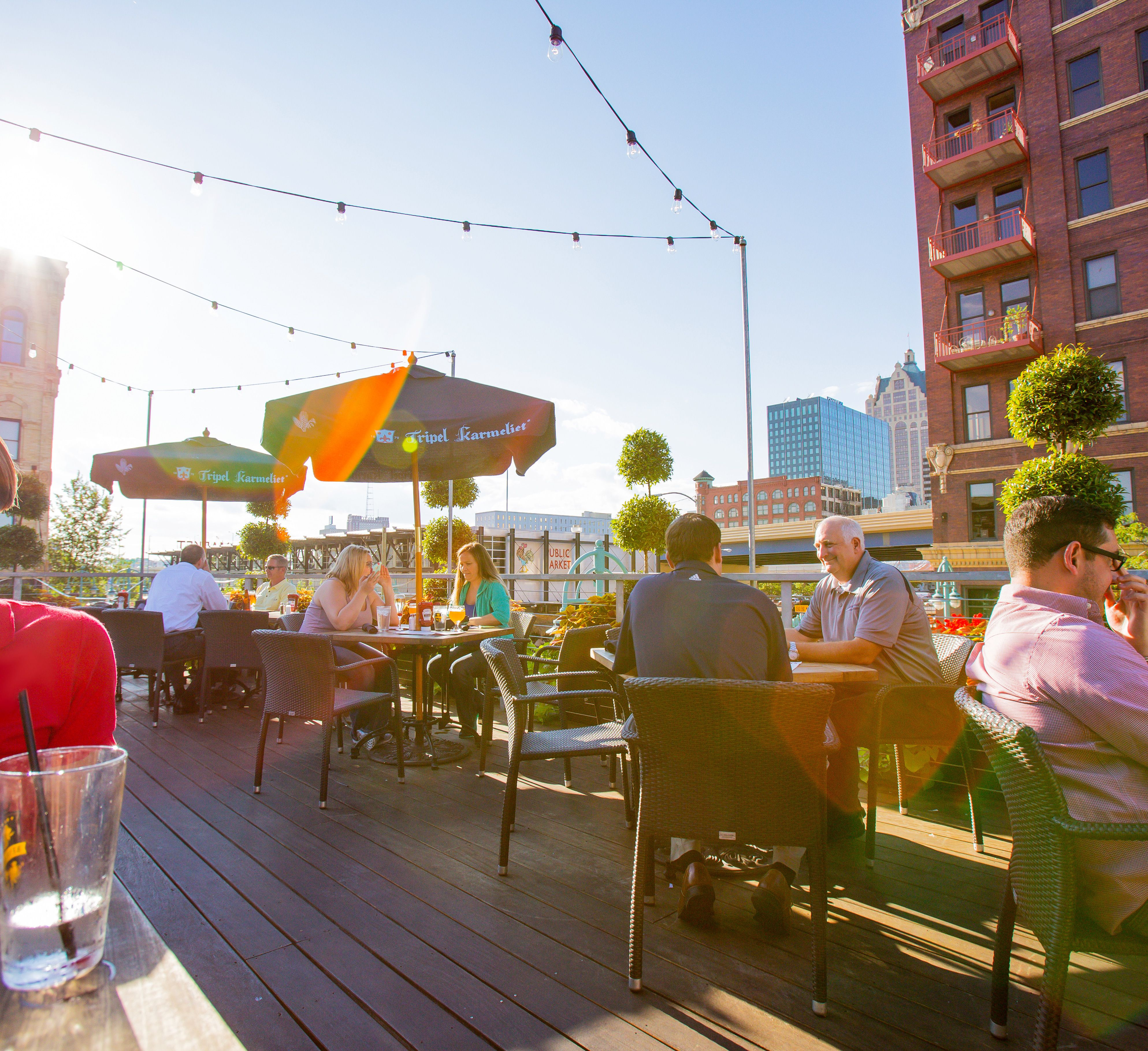 Delicious Food And Stunning City Views: What Could Be Better? These  Rooftops In Milwaukee