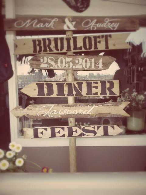 Vintage Decoratie Te Koop Bruiloft Kasteel Bruiloftsborden Decoratie