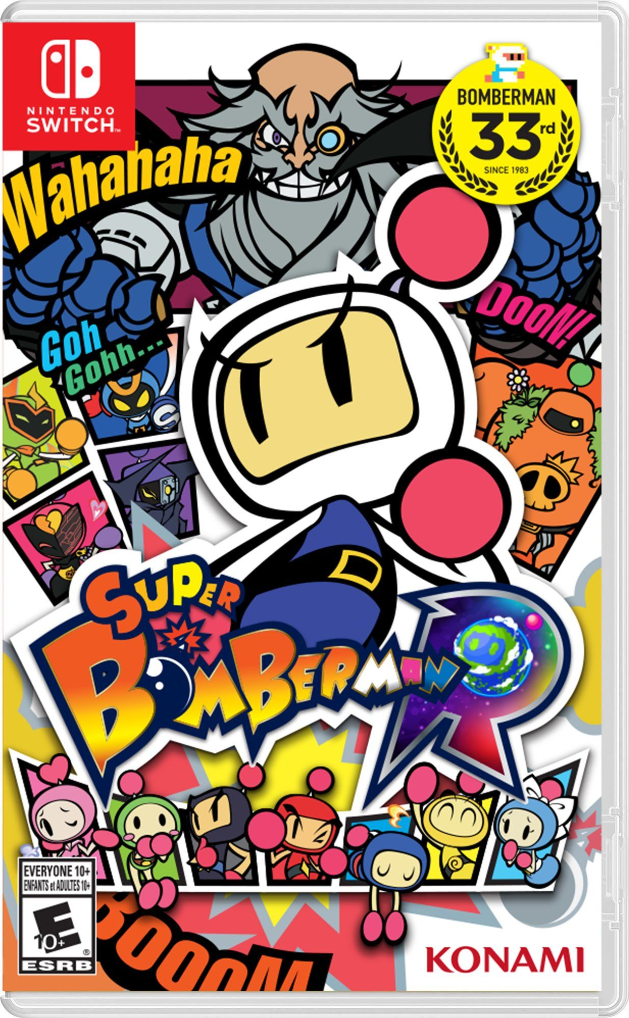 Super Bomberman R Nintendo Switch Nintendo switch
