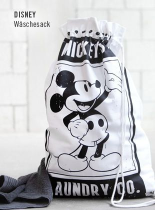 Mickey S Laundry My Style Of Disney Wohnaccessoires Disney