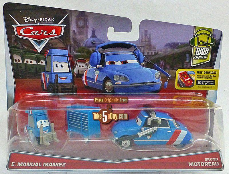 Mattel Disney Pixar Cars E Manual Maniez Time To Pit Disney