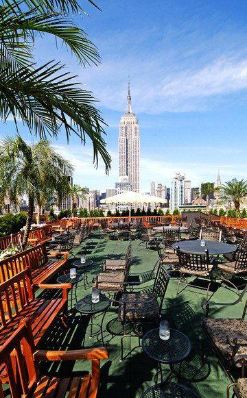 Die coolsten Rooftops, Skybars und Dachterrassen in New York. Wir ...