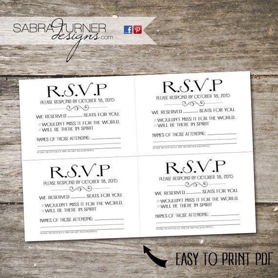 Cassette Tape RSVP Card Song Request By SabraTurnerDesigns