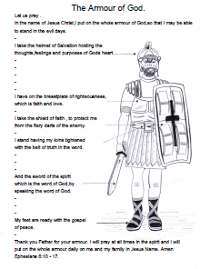 The Full Armor of God: Bible Study on Ephesians 6:10-18