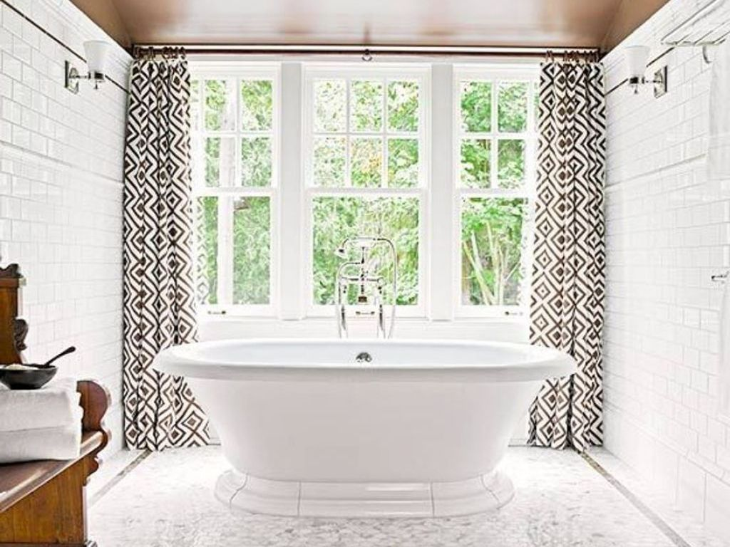 bathtub design curtain enthrall size with rod curtains full rods shower treatments short window double walmart vinyl of valance matching and momentous wi s awesome ideas set bath furniture valances cheap white bathroom