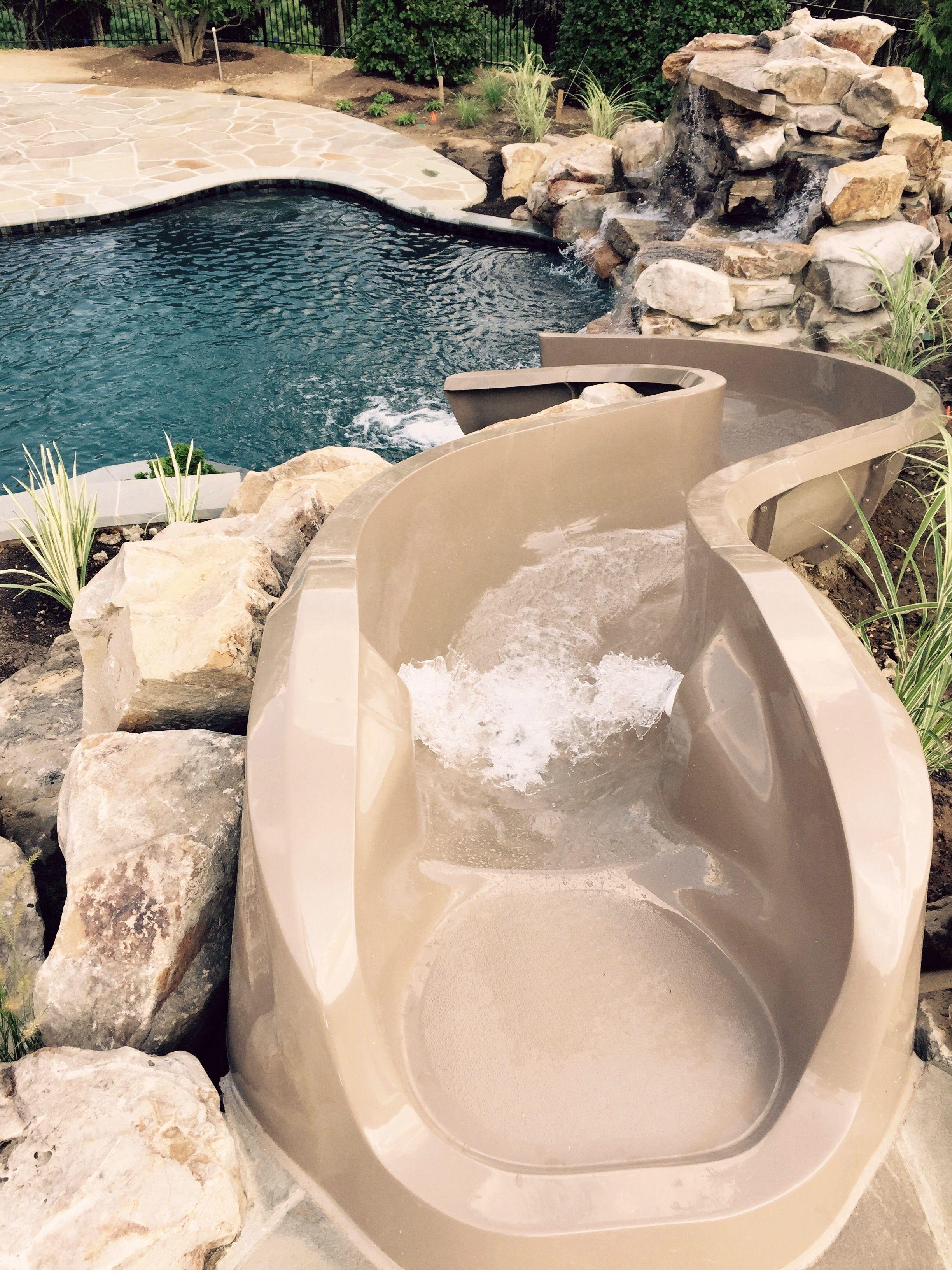 Back Yard Water Slide By Paradiseslides Backyard Beach Dream