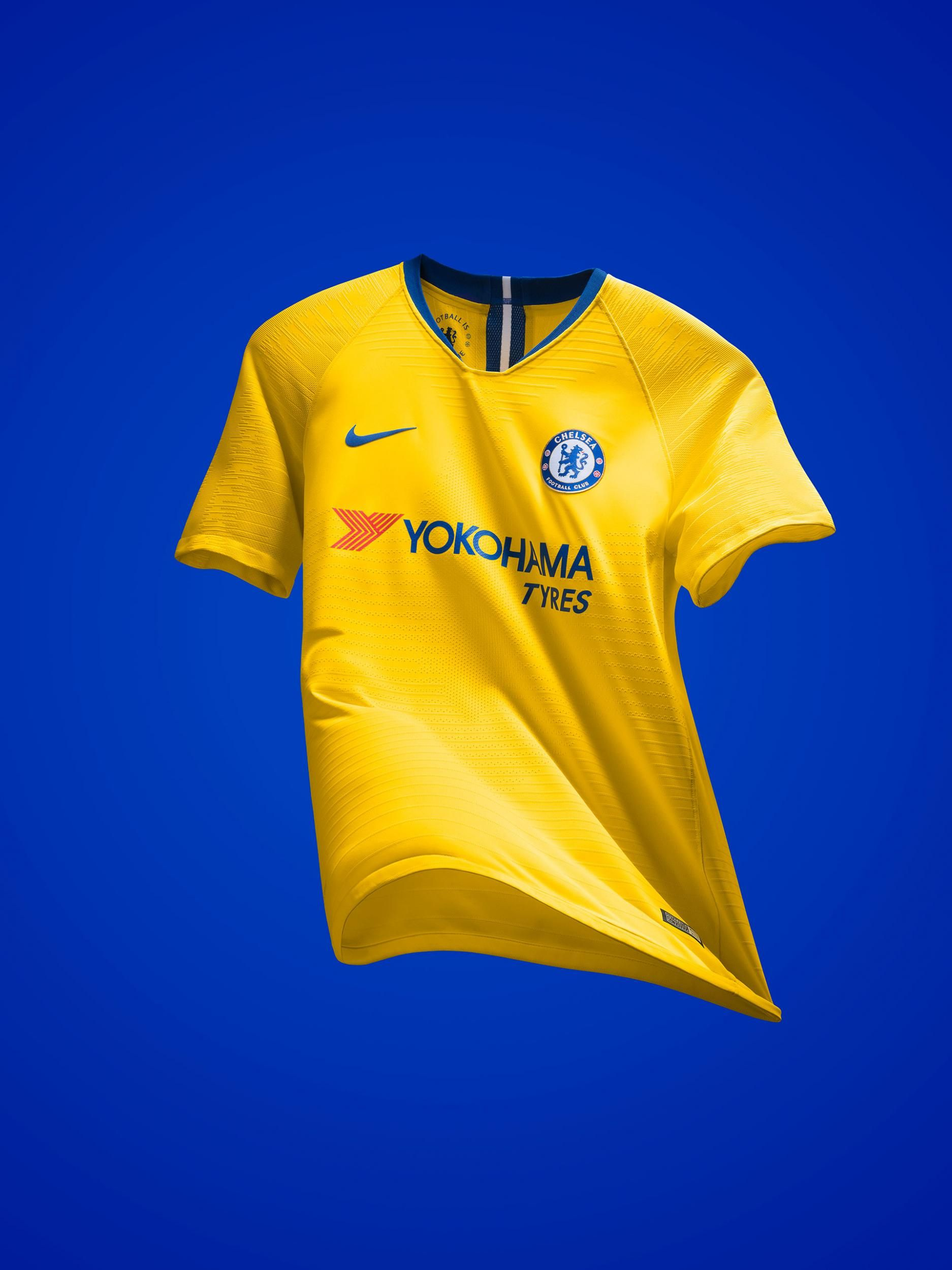 Chelsea away shirt for 2018-19.  02728c680
