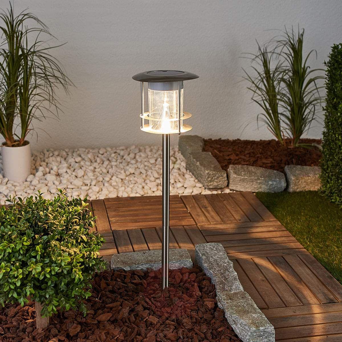 Solarna Lampa Z Grotem Ziemnym Led Brush Czujnik Lampy