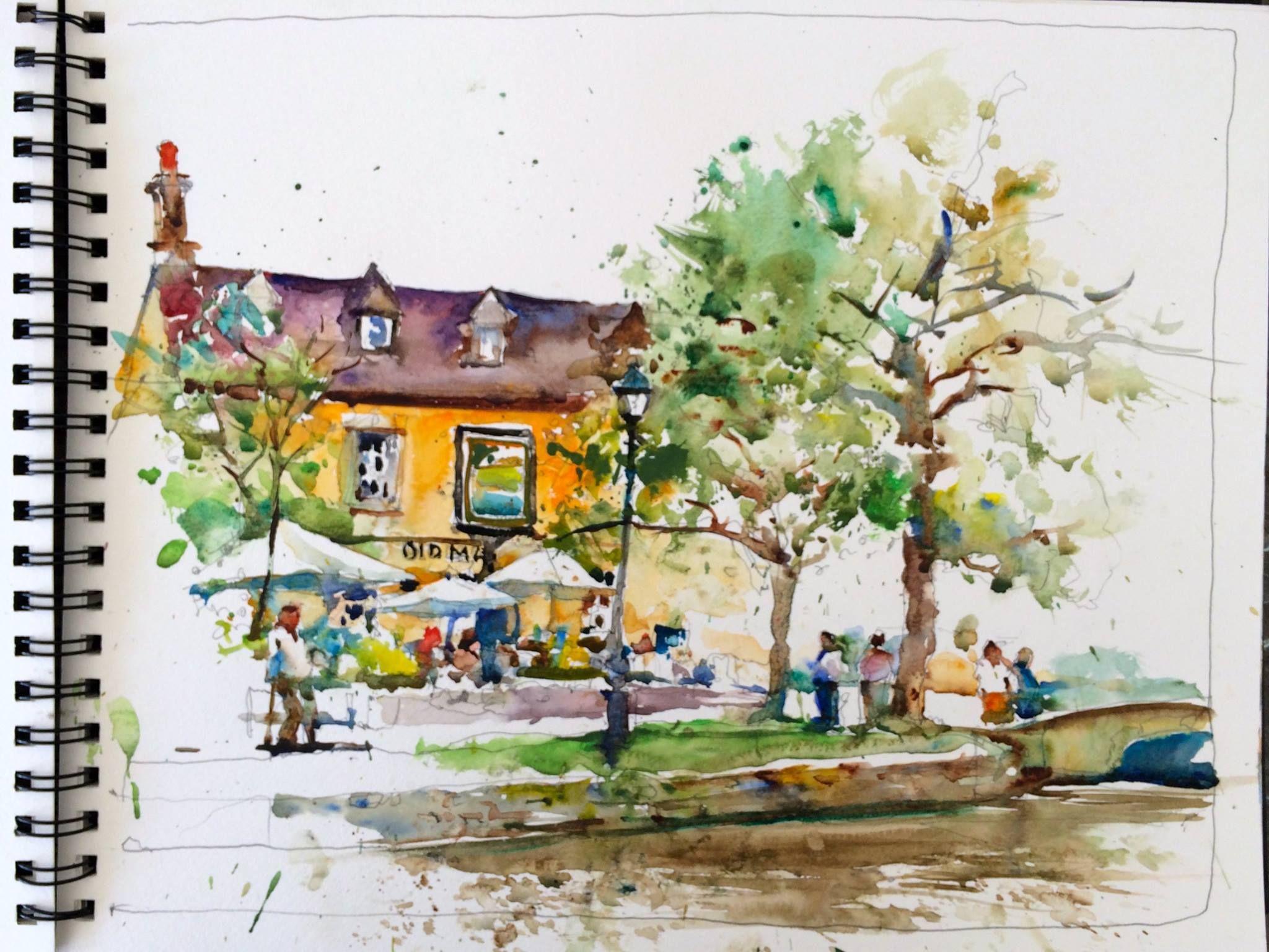 Pin By Valerie Mafrica Art On Charles Reid Watercolor Sketchbook Charles Reid Watercolor Art Lessons