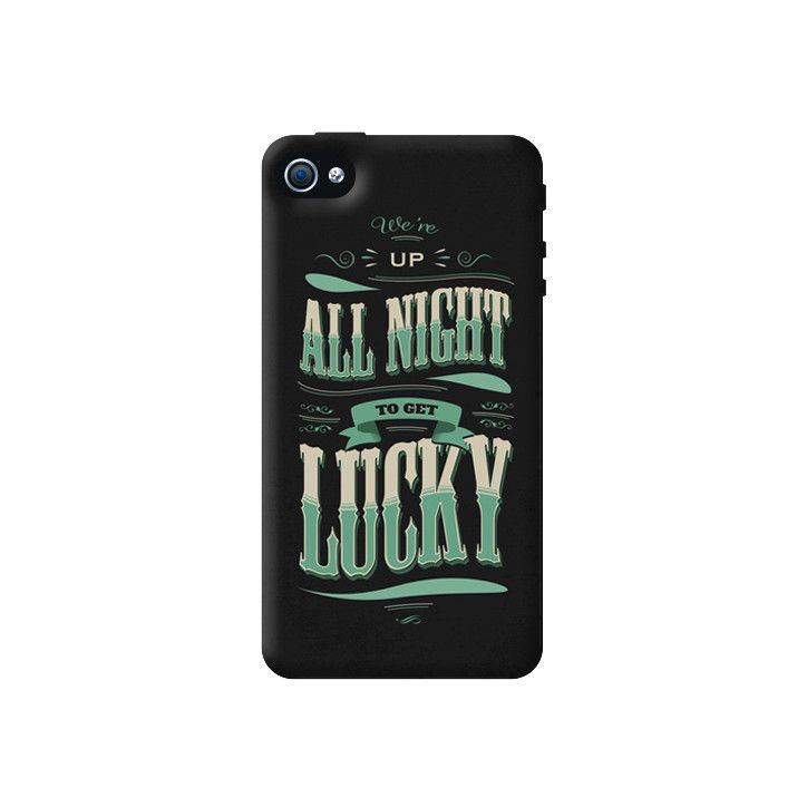 Get Lucky Apple iPhone 4/4S Case from Cyankart