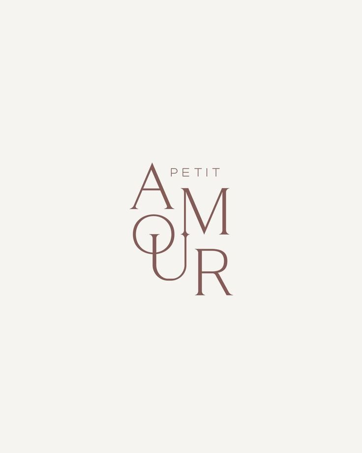 Petit Amour - création de logo, identité de marque, identité de marque, boîtes à bagues, bijo...