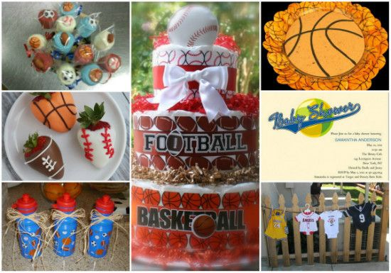 Sports Baby Shower Decorations For Boys Throw A Sports Theme Baby