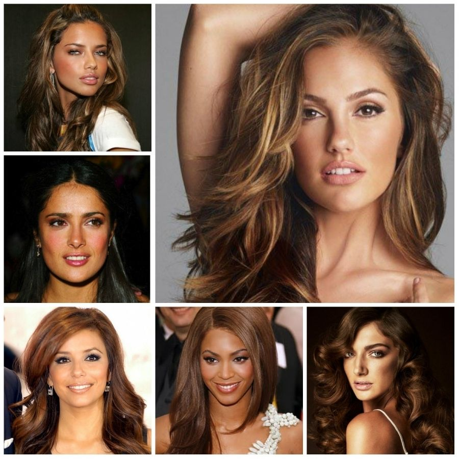 Best Hair Color For Tan Skin Uphairstyle