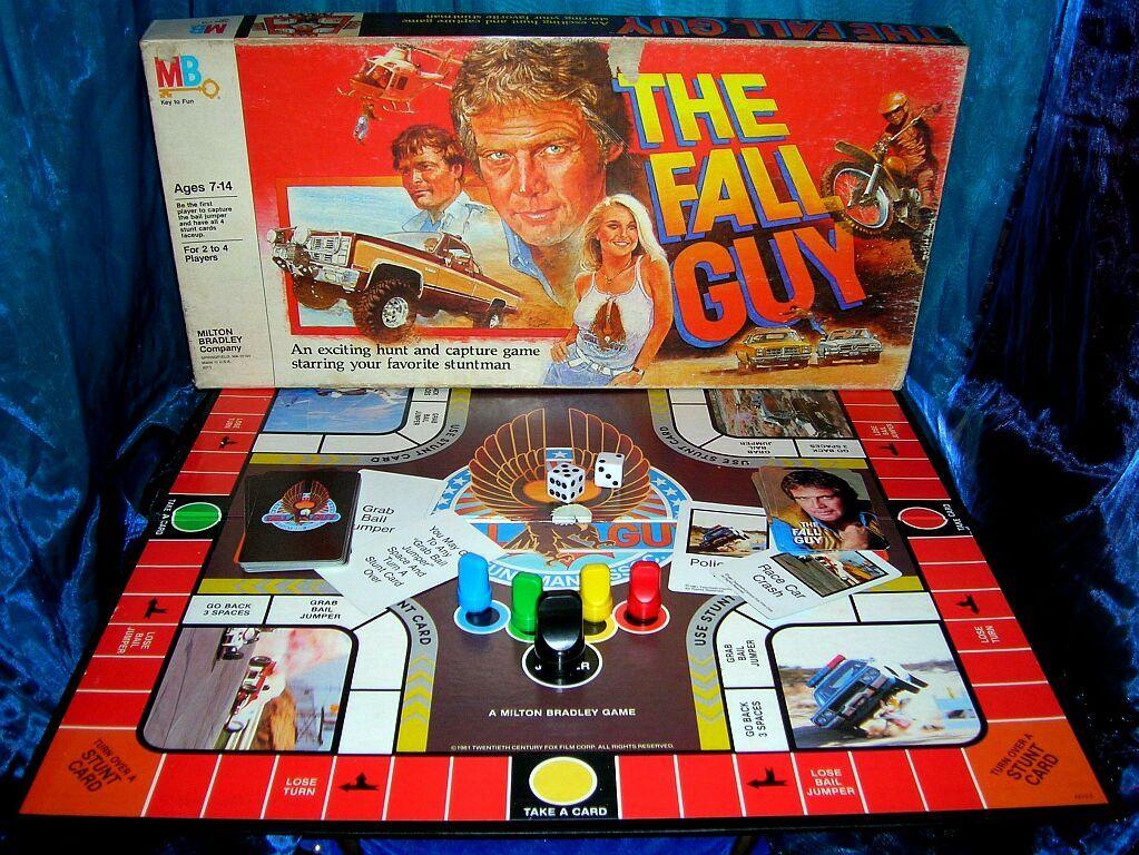 Fall Guy Board Game Juegos Juegos De Mesa