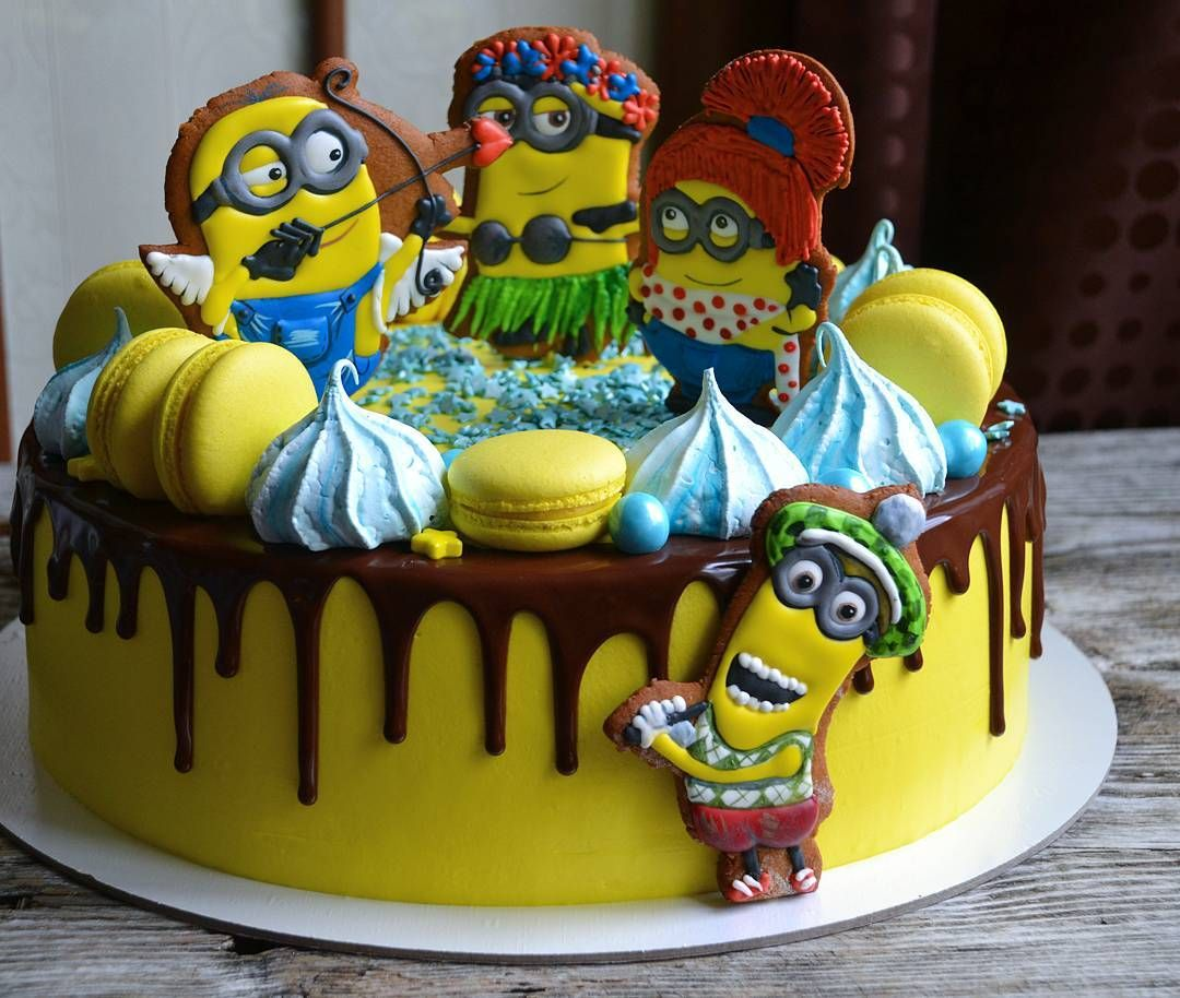 бьют поздравлений фото тортика миньоны вас есть фото
