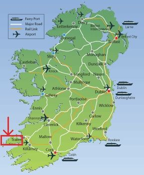 Dingle Peninsula In 2020 Ireland Castles In Ireland Ireland Map