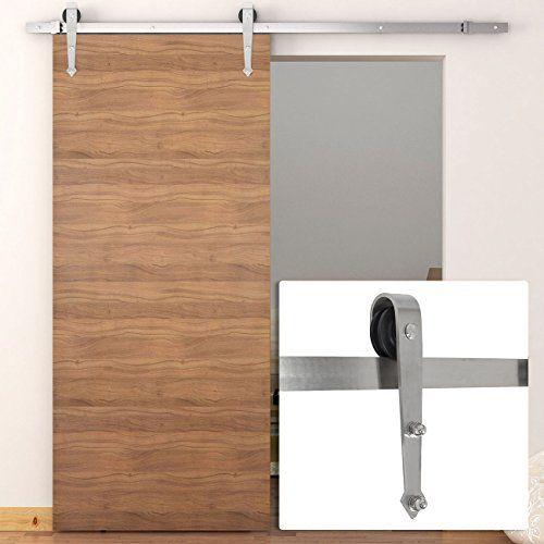 Belleze 6 FT Antique Sliding Door Hardware Kit Only Wood ... Https:/