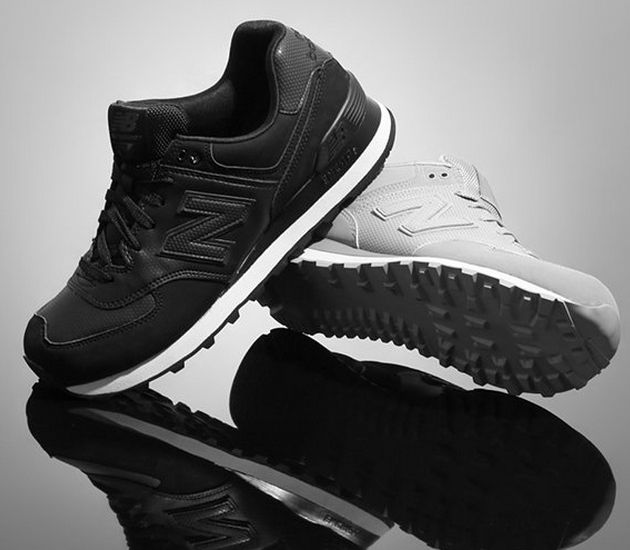 mens new balance 574 stealth nubuck casual shoes