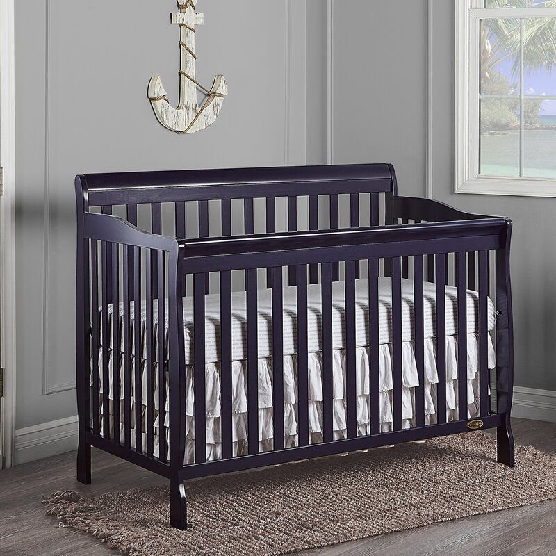 Rudd 5-in-1 Convertible Crib in 2020 | Cribs, Convertible ...