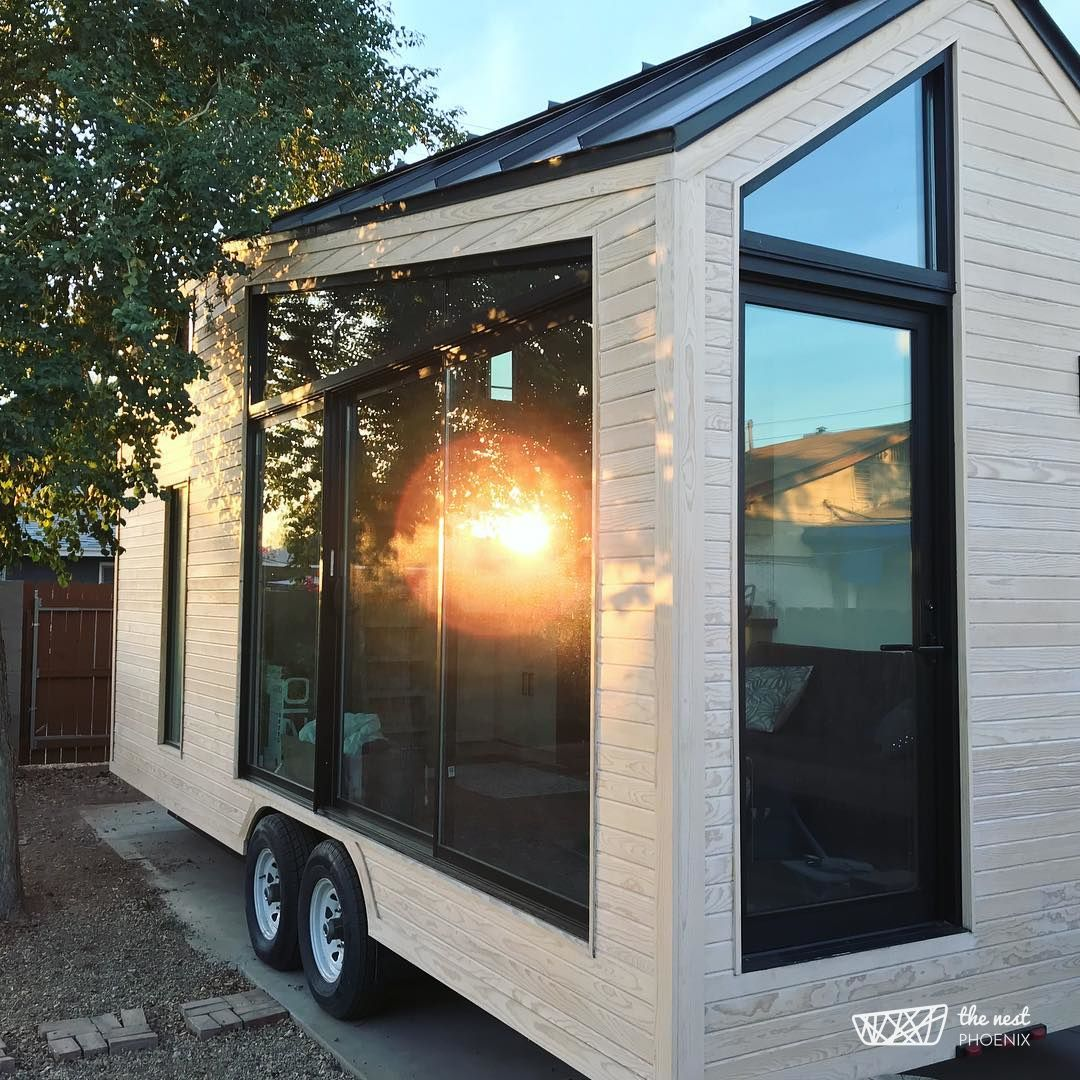 the nest a gorgeous modern tiny house available for rent in phoenix rh pinterest com
