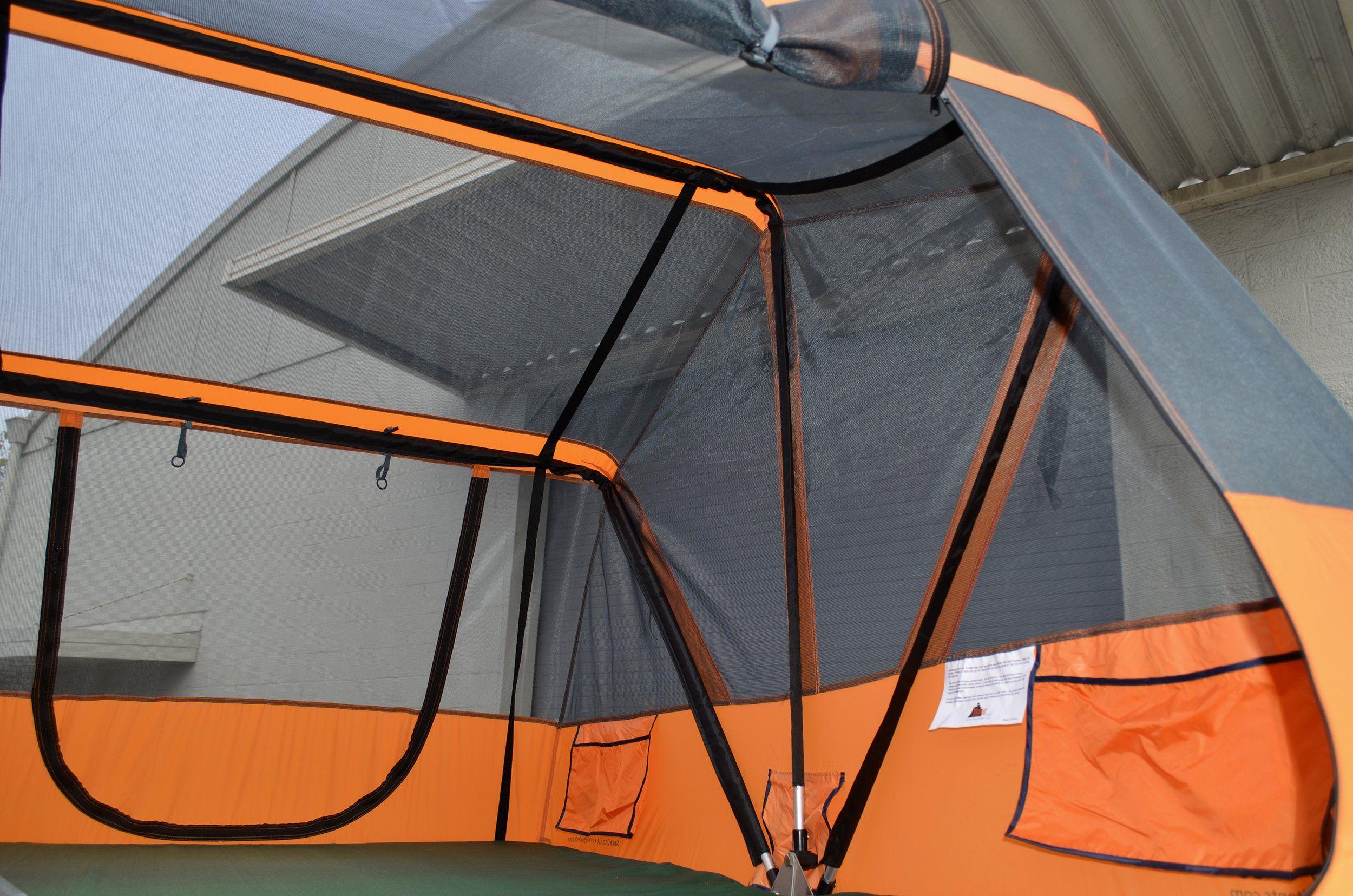 Tepui Baja Series Kukenam Roof Top Tent W Mesh Canopy Expedition