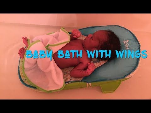 f6d21bc24cb Summer Bath Sling with Warming Wings -