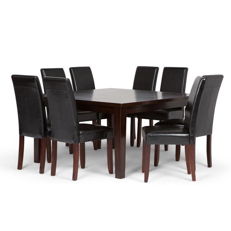 98ec990cc94513 Acadian 9 Piece Dining Set in 2019 | All Products | Black dining set ...