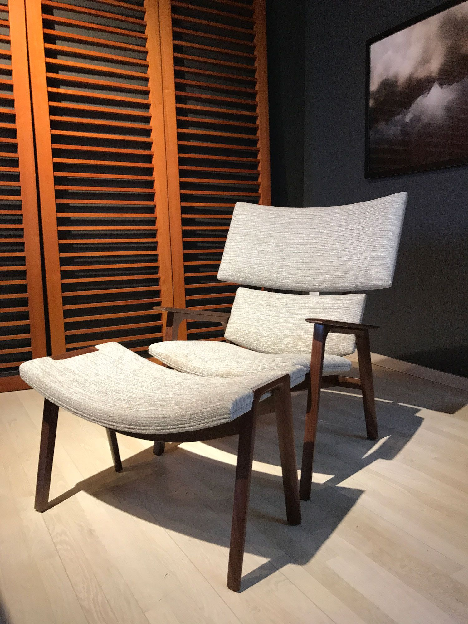 jackson lounge chair ottoman troscan design furnishings rh pinterest com