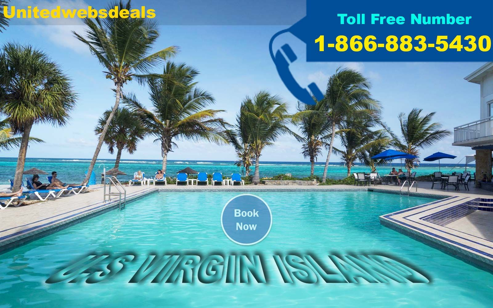 Visit Us Virgin Islands by booking your flights on