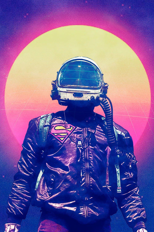 Vaporwave Astronaut