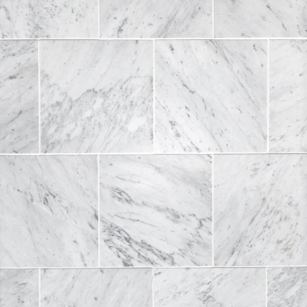 Bianco Carrara Honed Marble Tile Floor Decor Marble Tile Floor Honed Marble Tiles Honed Marble