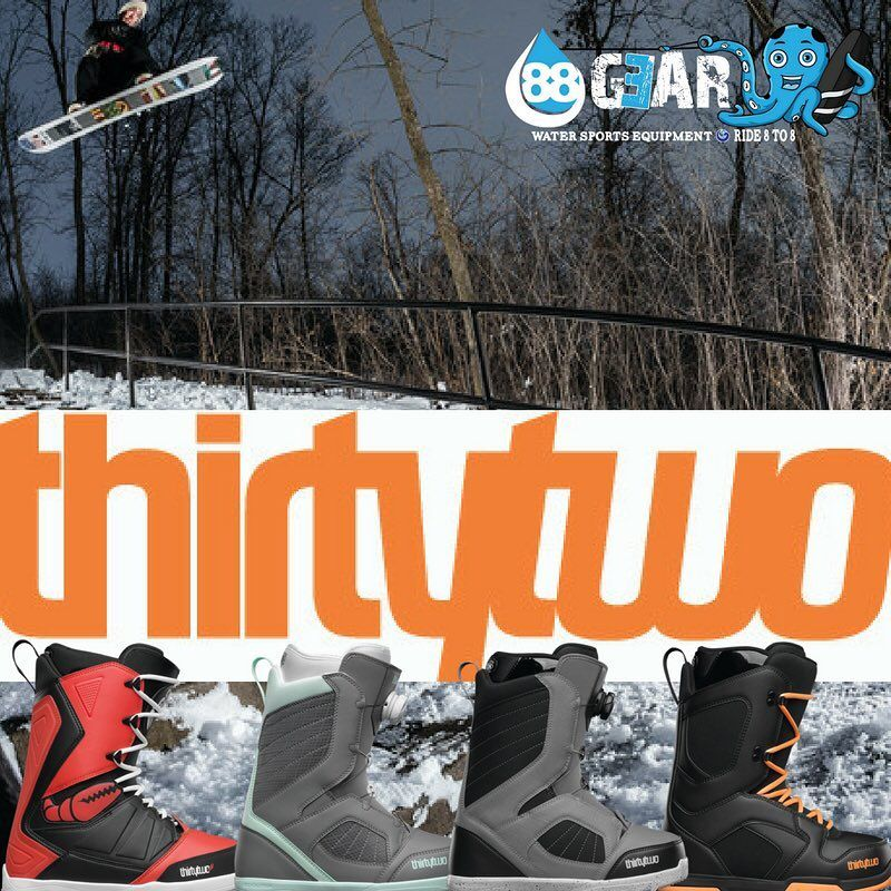 """88 Gear 💦 on Instagram: """"New for 2017 thirty two Snowboard Boots at 88 Gear - lots of numbers there 😄#snowboarding #wakeboarding #snowsports #wakesurfing #boarding…"""""""