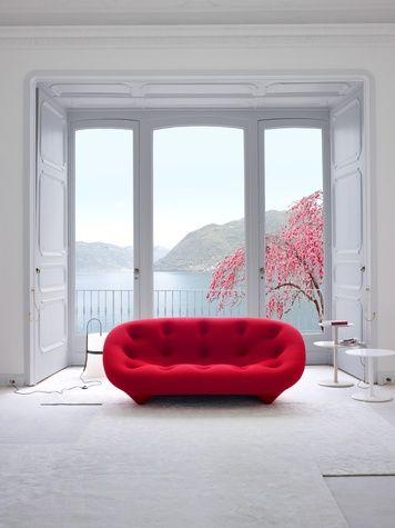 ligne roset houston may 2013 ploum sofa by ronan and erwan rh pinterest com