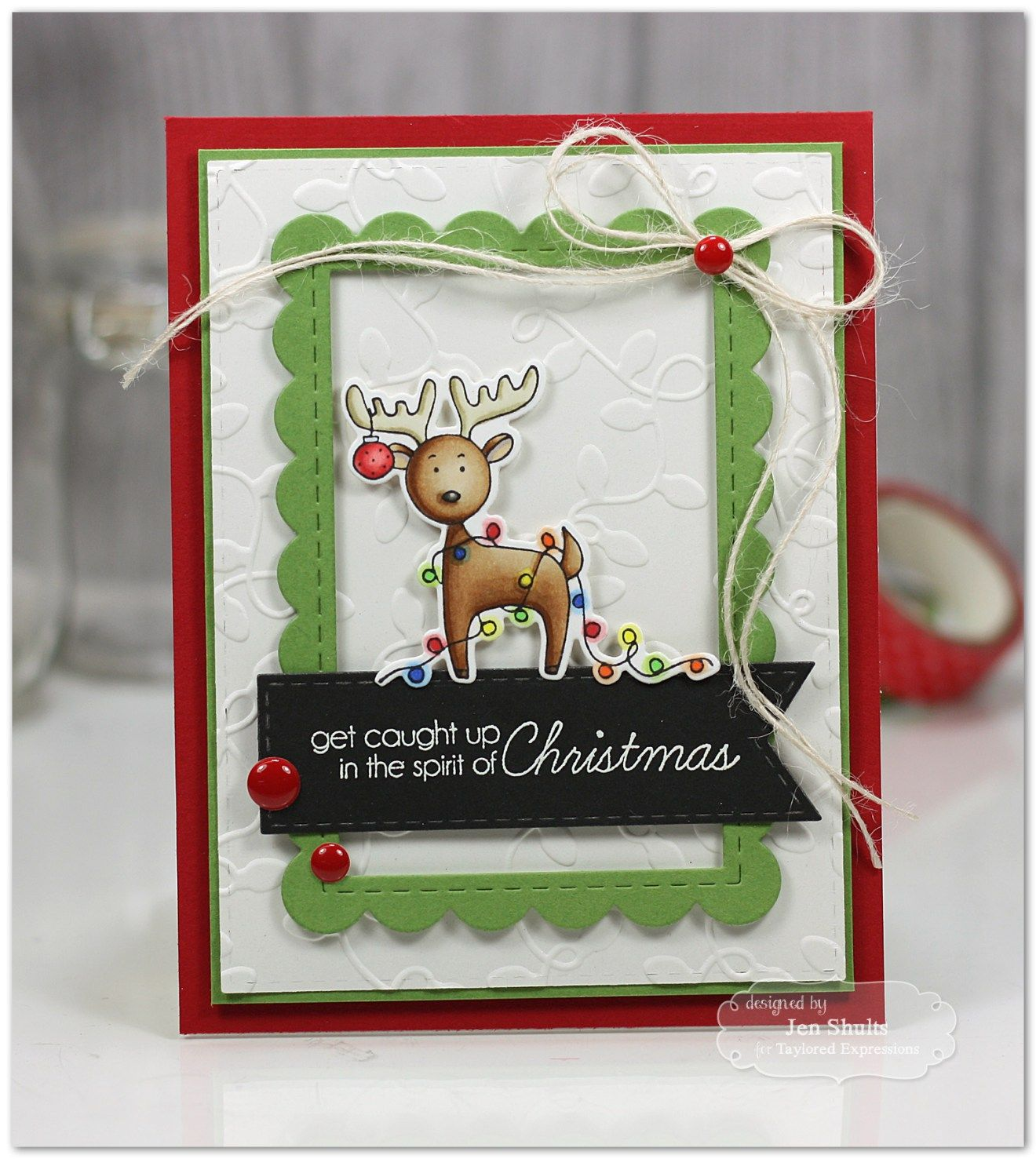 Spirit of Christmas Deer or Moose Christmas Card | Taylord ...