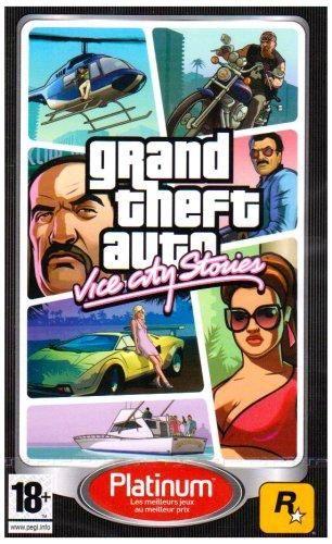 Take 2 Gta Vice City Stories Platinum Juegos De Psp Grand Theft Auto Y Descarga Juegos