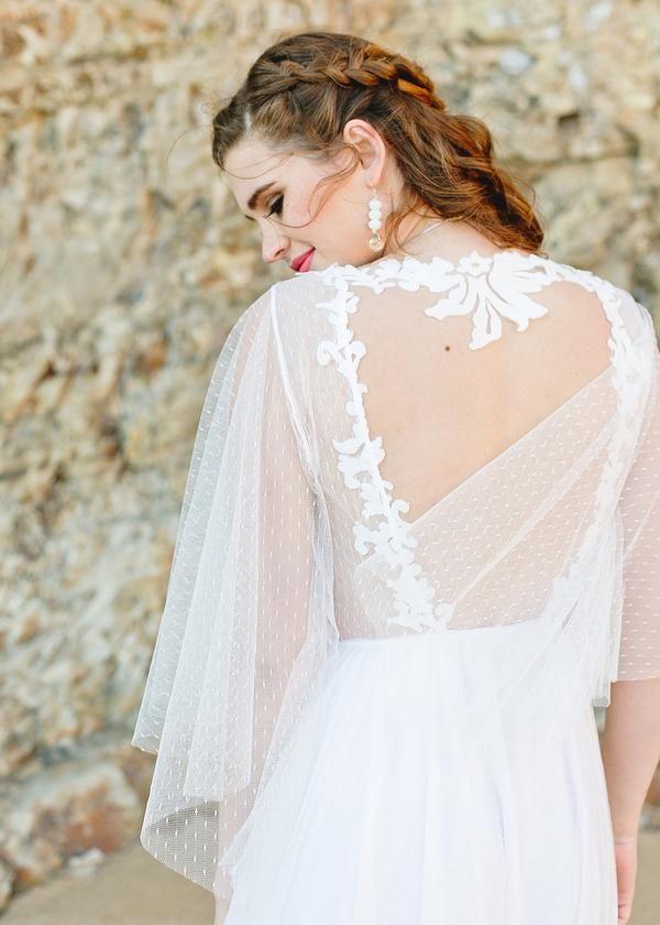Bohemian Wedding Dress, Hippie Wedding Dress, Beach Wedding Dress ...
