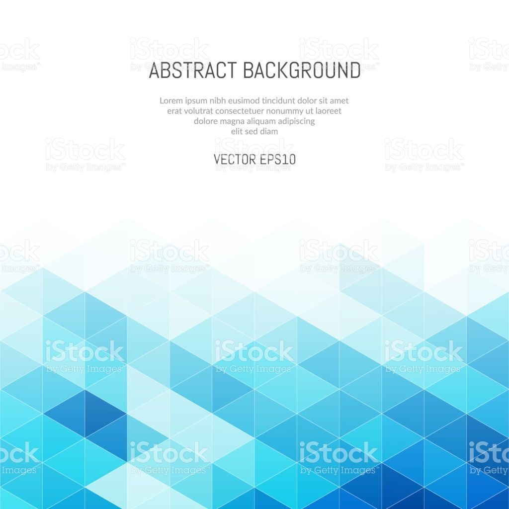 Abstract Background Of Triangles Geometric Light Texture Bright