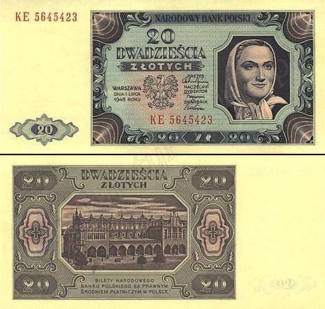 Banknoty Polskie Ilustrowany Zbior Polskich Banknotow Money Design Poland People Poland