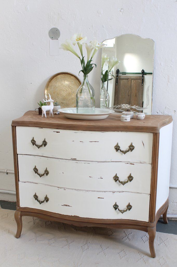 Pin en painted furniture before and after - Pintar muebles viejos ...
