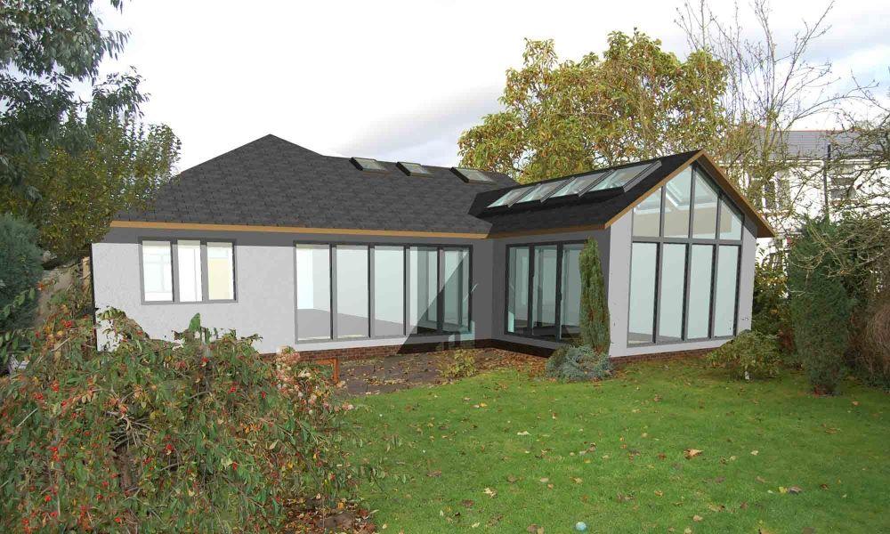 rear glass extension bungalow ideas pinterest bungalow extensions extension google and. Black Bedroom Furniture Sets. Home Design Ideas