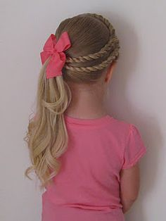 Girl Hairstyles Double Twists  Pinterest  Crazy Hairstyles Stuffing And Girls