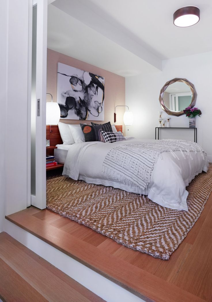 modern bedroom designs%0A Before  u     After  A Clean  u     Modern Guest Bedroom  The Accent     Bedroom  Design Ideas