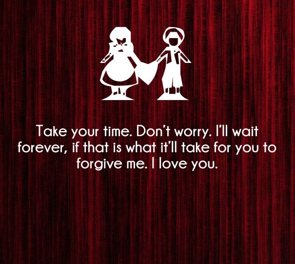 Forgive Me Quotes I Hope One Day You Forgive Me And We Can Get Past This.it Will .
